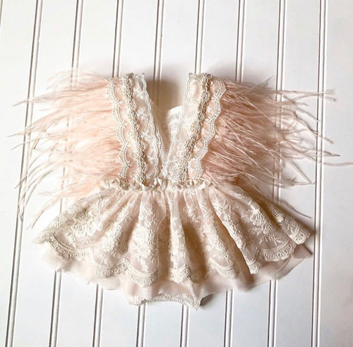 Light Blush Jenna Romper