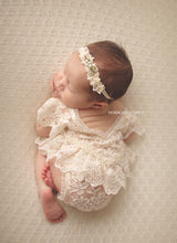 Load image into Gallery viewer, Juliet Romper and Headband