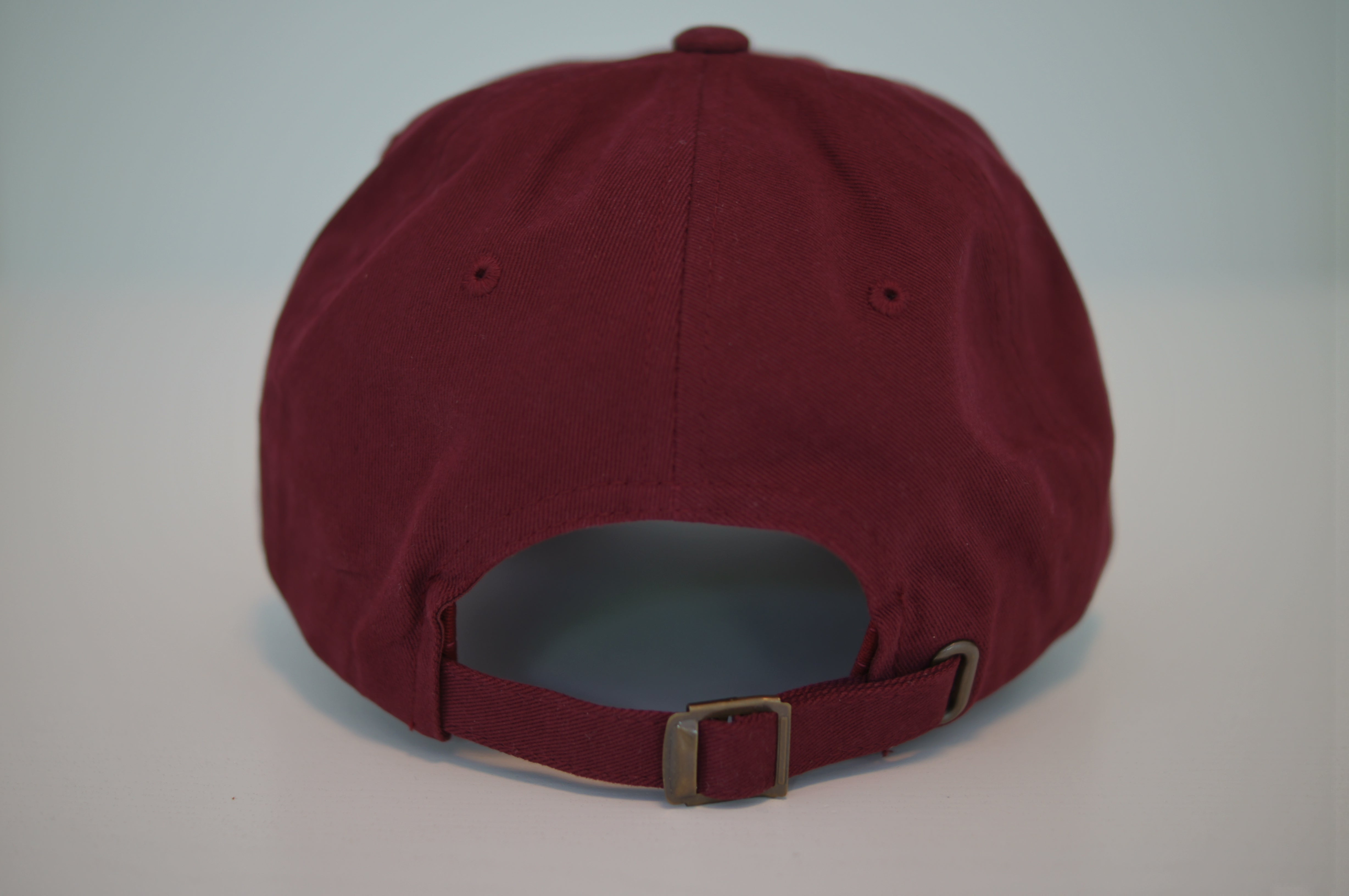 Surfer Twokan Classic Dad Hat in Burgundy Red