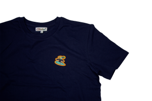 Surfer Twokan Icon Shirt in Navy Blue