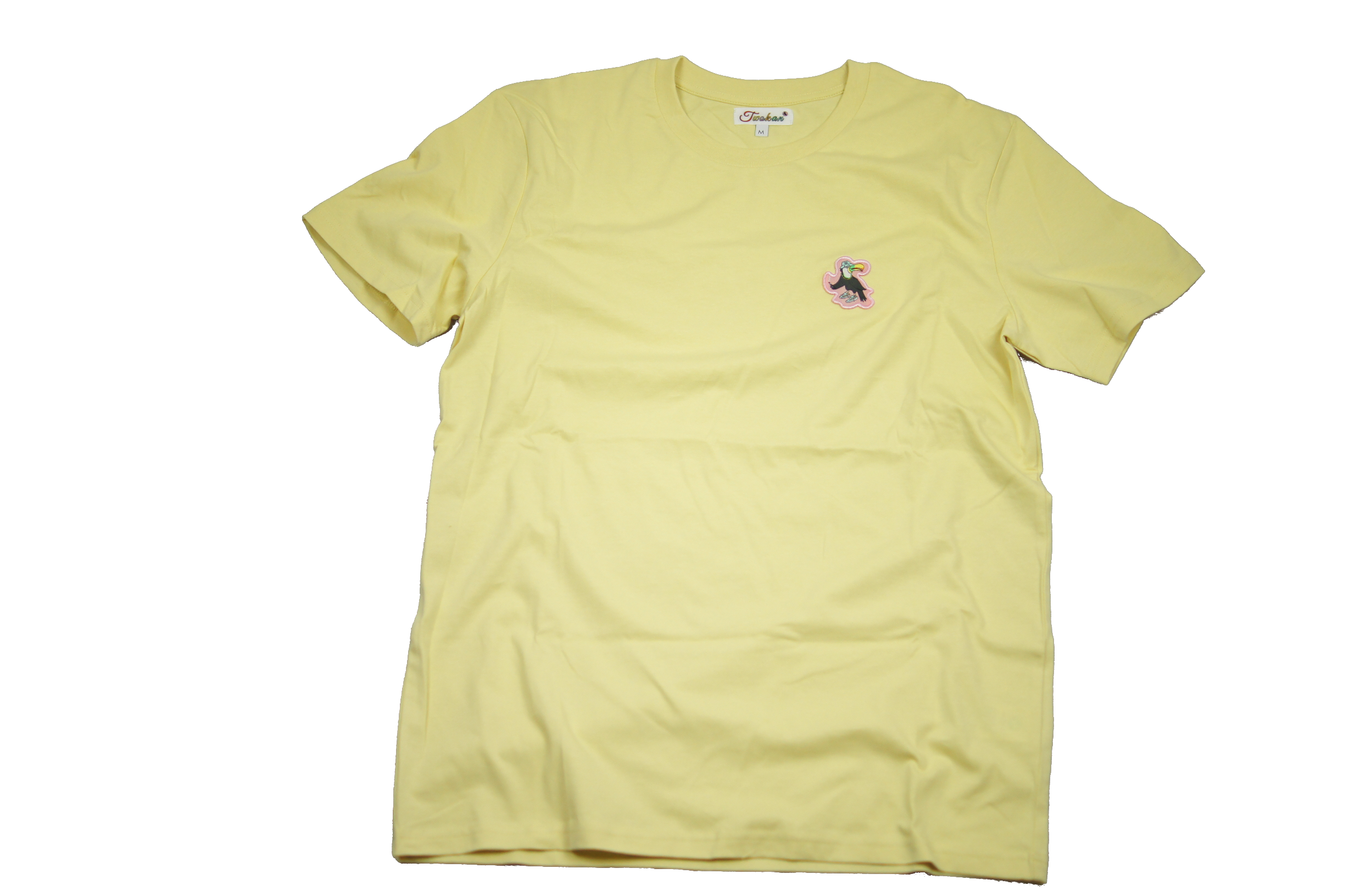 Cloud Twokan Icon Shirt in Light Lemon