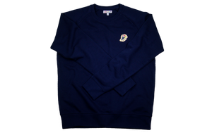 Jazz Twokan Icon Sweater in Navy Blue