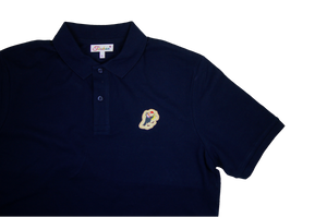 Jazz Twokan Icon Polo in Navy Blue