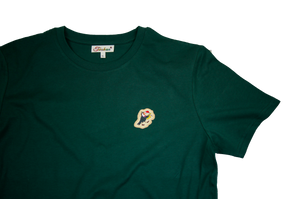 Jazz Twokan Icon Shirt in Pine Green
