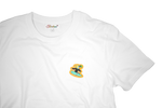 Load image into Gallery viewer, Surfer Twokan Icon Shirt in Clean White