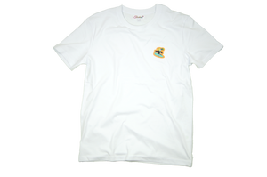 Surfer Twokan Icon Shirt in Clean White