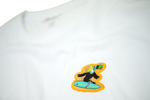 Lade das Bild in den Galerie-Viewer, Surfer Twokan Icon Shirt in Clean White