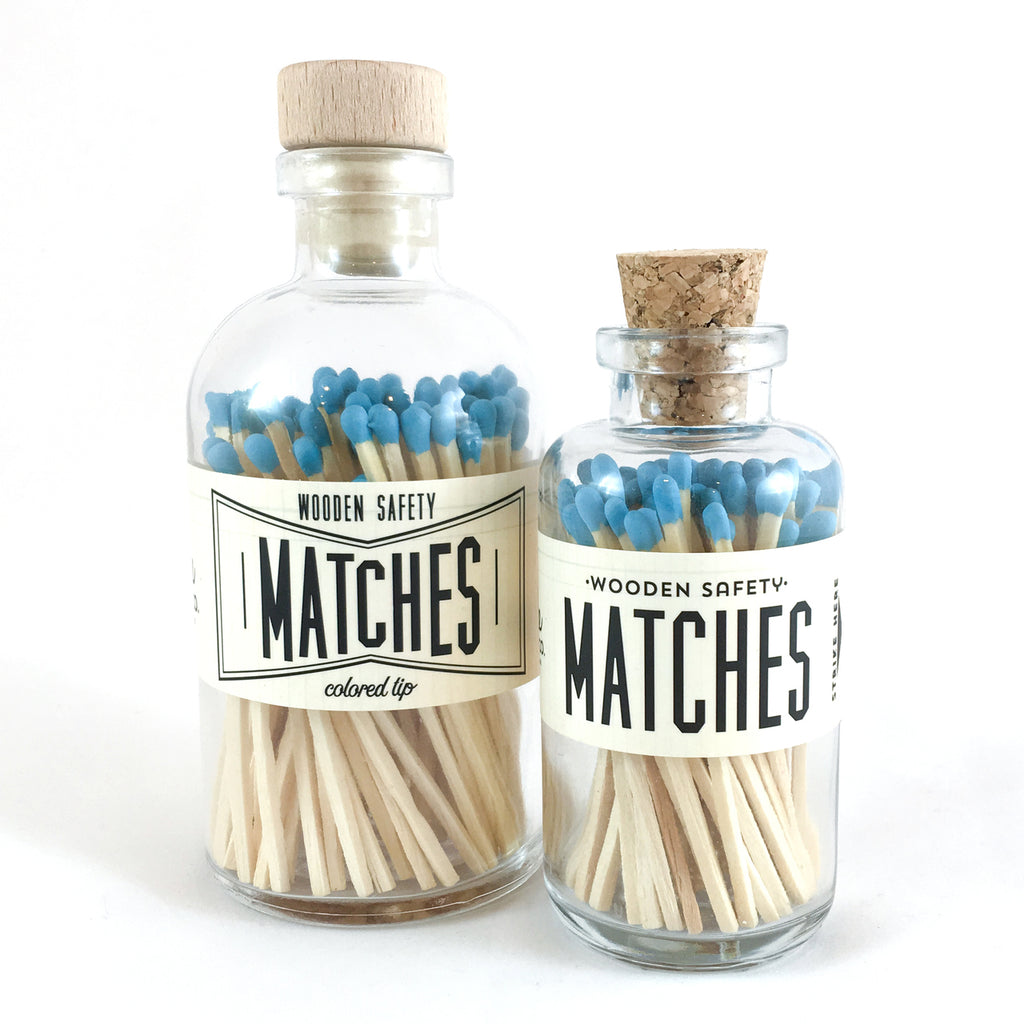 Aqua Vintage Matches (large)