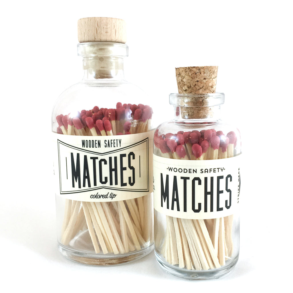 Maroon Vintage Matches (large)