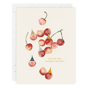 You're The Cherry On Top - Any Occasion or Birthday Card