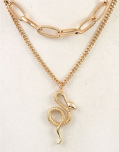 Load image into Gallery viewer, Snake Charmer Necklace