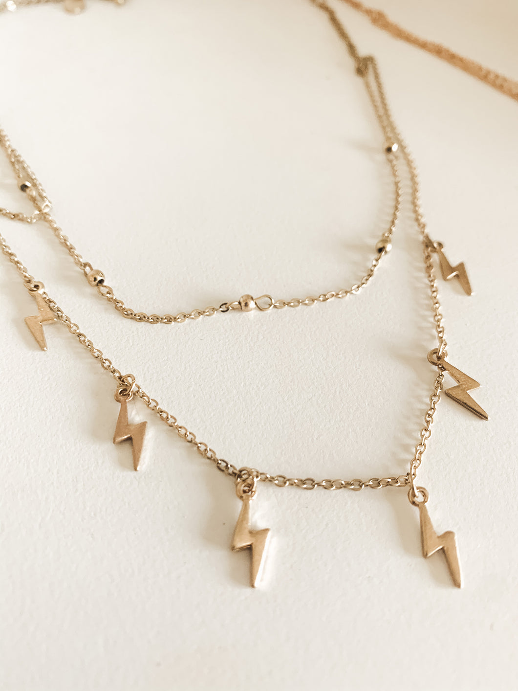 Lightning Layers Necklace