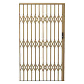Alu-Glide Security Gate - 1800mm x 2150mm Bronze