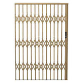 Alu-Glide Security Gate - 2500mm x 2150mm Bronze