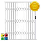 Alu-Glide Security Gate - 3000mm x 2150mm White