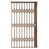 Alu-Glide Plus Security Gate - 1500mm Bronze