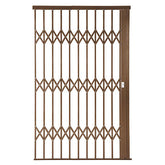 Alu-Glide Plus Security Gate - 1800mm Bronze