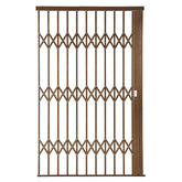 Alu-Glide Plus Security Gate - 1800mm x 2150mm Bronze