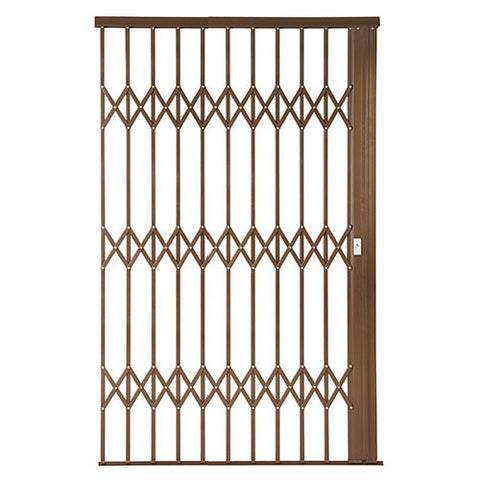 Xpanda Alu-Glide Plus Security Gate - 1800mm Bronze | Sliding Security Gate