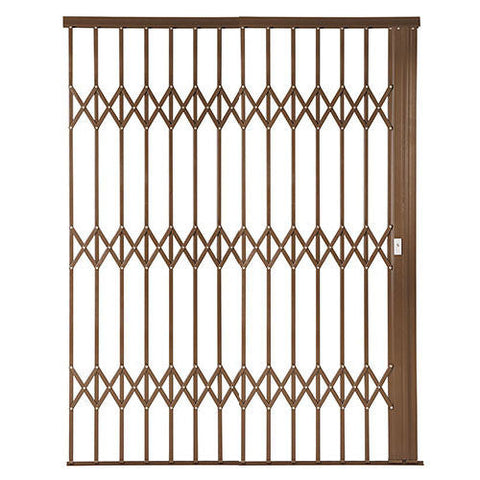 Xpanda Alu-Glide Plus Security Gate - 2500mm Bronze | Sliding Security Gate