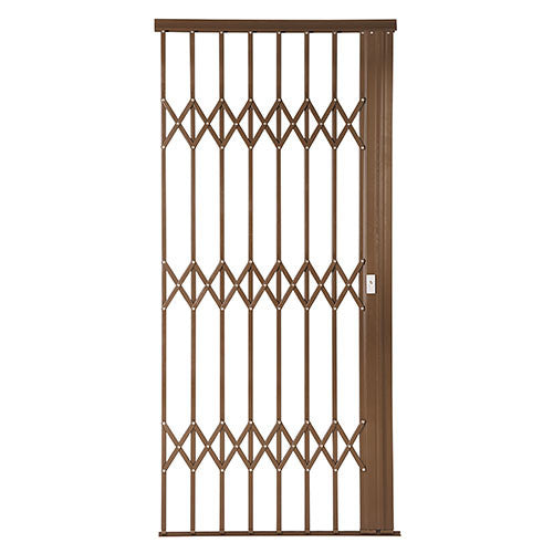 Alu-Glide Plus Security Gate - 1000mm x 2150mm Bronze