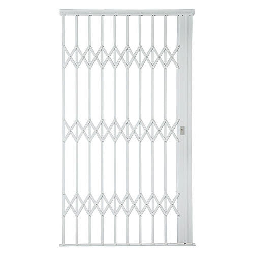 Alu-Glide Plus Security Gate - 1500mm x 2150mm White