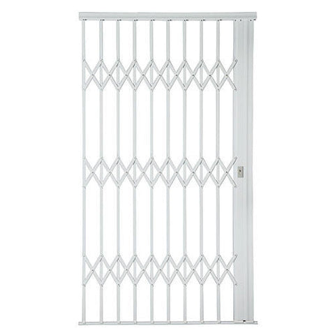 Xpanda Alu-Glide Plus Security Gate - 1500mm White | Sliding Security Gate