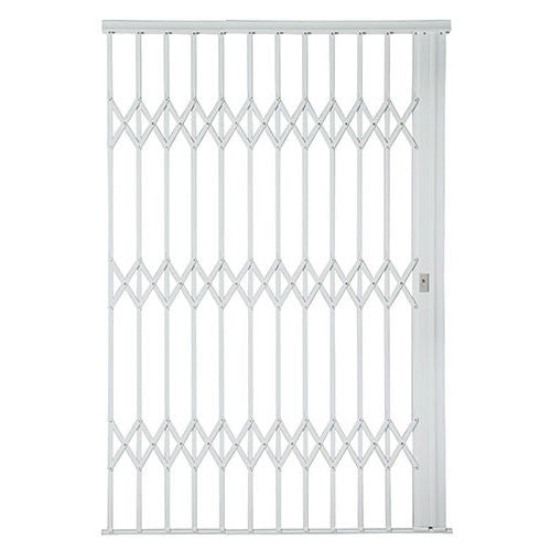 Alu-Glide Plus Security Gate - 2200mm x 2150mm White