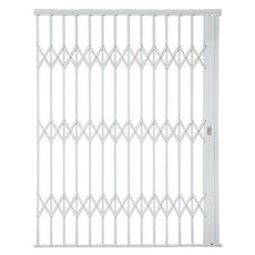 Alu-Glide Plus Security Gate - 2500mm x 2150mm White