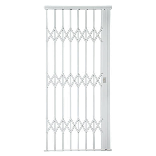 Alu-Glide Plus Security Gate - 1000mm x 2150mm White