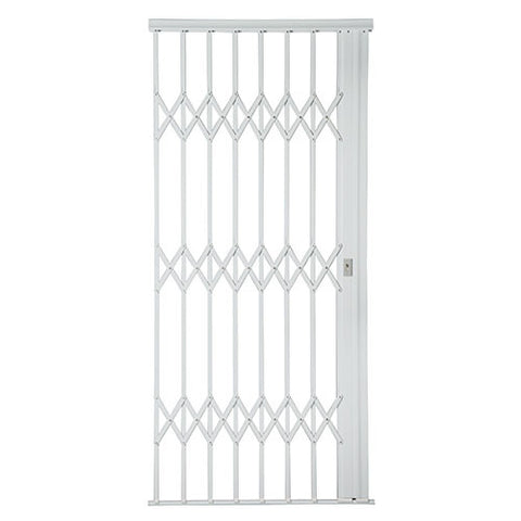 Xpanda Alu-Glide Plus Security Gate - 1000mm White | Sliding Security Gate