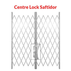 Centre Lock Saftidor - White
