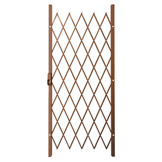 Saftidor A Slamlock Security Gate - 840mm x 2000mm Bronze