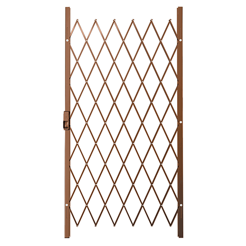 Saftidor B Slamlock Security Gate - 1000mm x 2000mm Bronze