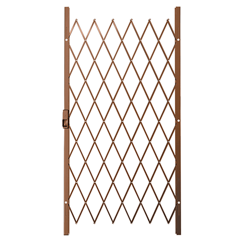 '521202 Xpanda Saftidor B Slam Lock Security Gate - 1000mm Bronze