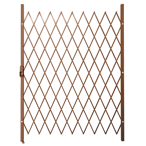 Saftidor E Slamlock Security Gate - 1450mm x 2000mm Bronze