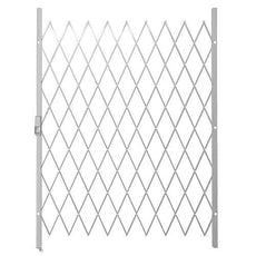 Saftidor E Slamlock Security Gate - 1450mm x 2000mm White