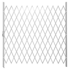 Saftidor H Slamlock Security Gate - 1950mm x 2000mm White