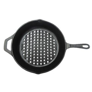 Cast Iron Skillet with Holes