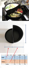 Load image into Gallery viewer, Cast Iron Saucepan-Skillet Combination - Size Information