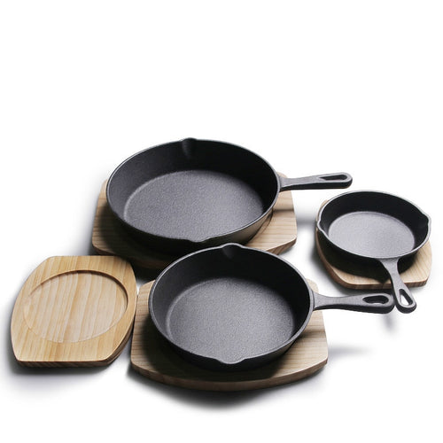 Cast Iron Skillet - 5.5 Inch/ 6.3 Inch/ 7.9 Inch