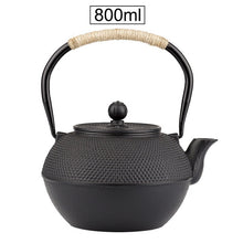 Load image into Gallery viewer, Cast Iron Teapots - 3.33 Cups