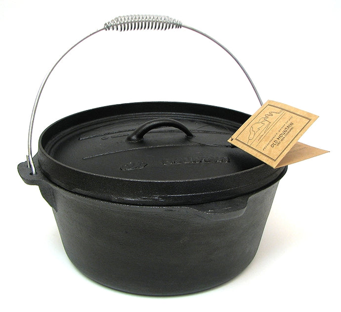Cast iron Camp Oven 8 Quart