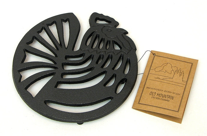 Cast Iron Trivet - Rooster