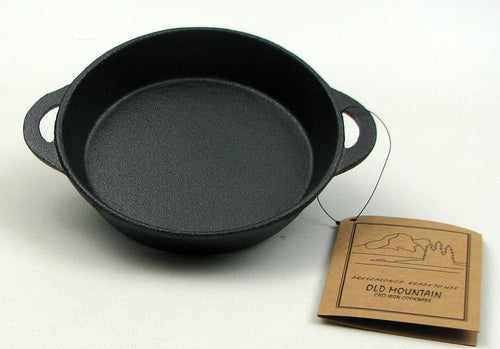 Cast Iron Single Serve Round Dish