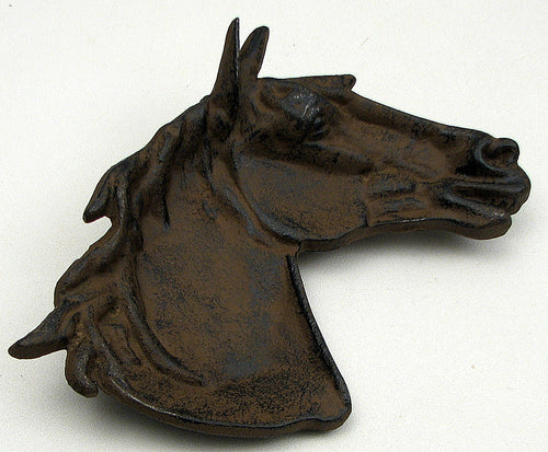 Cast Iron Horse Dish - Set of 2