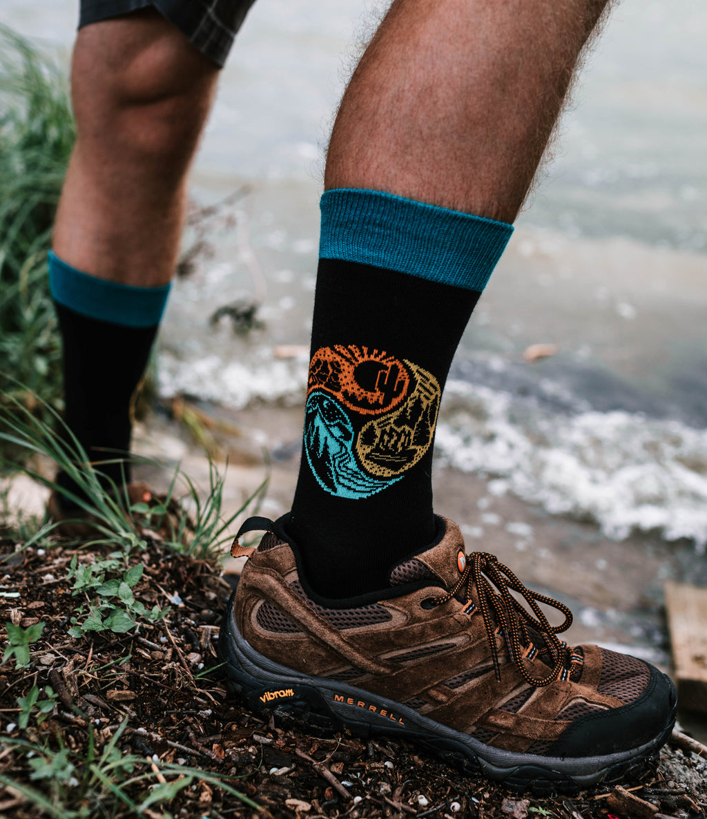 Atomicchild Men's Casual Socks - Circle of Life