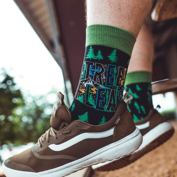 Atomicchild Men's Casual Socks - Trees Please