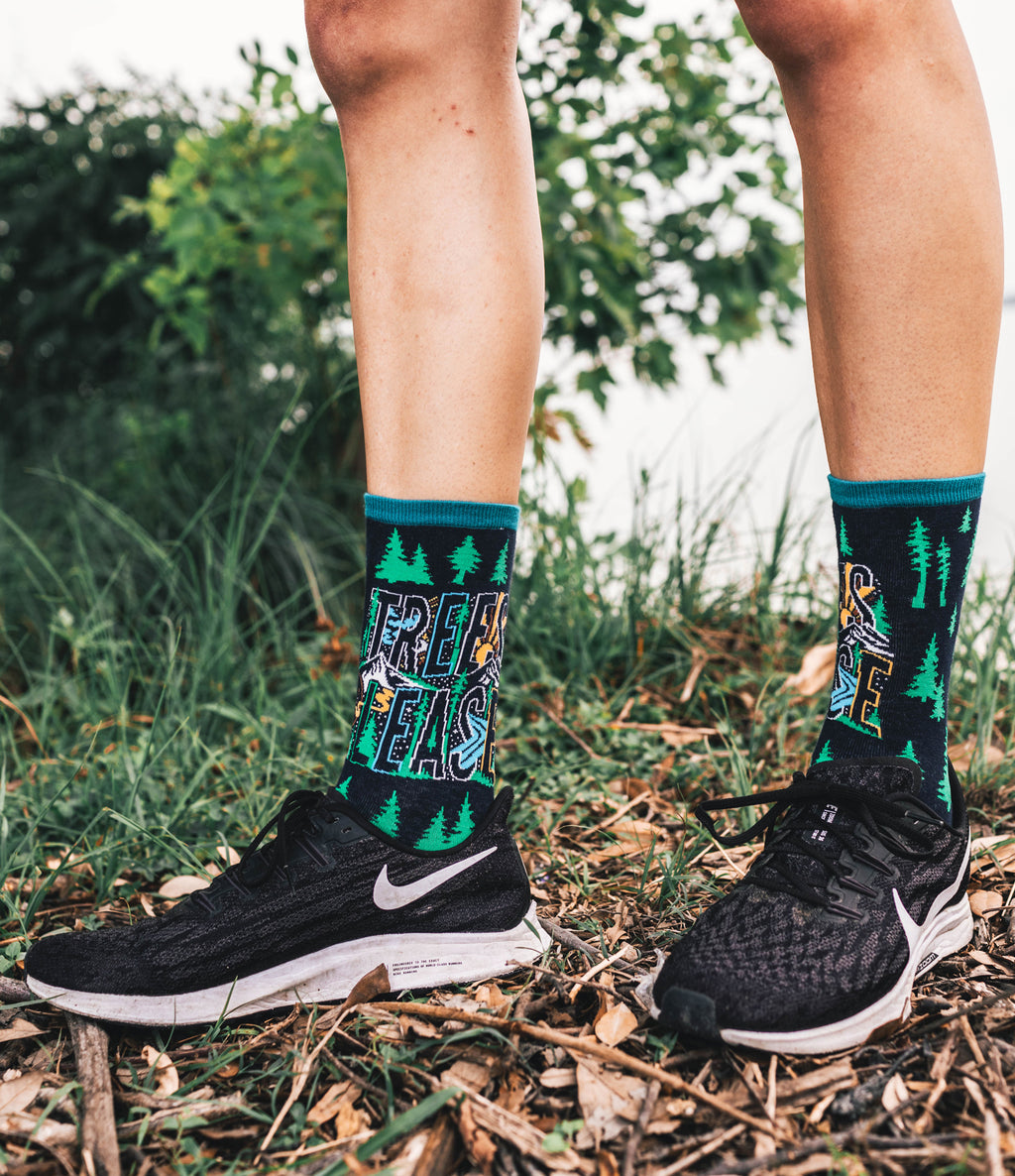 Atomicchild Women's Casual Socks - Trees Please