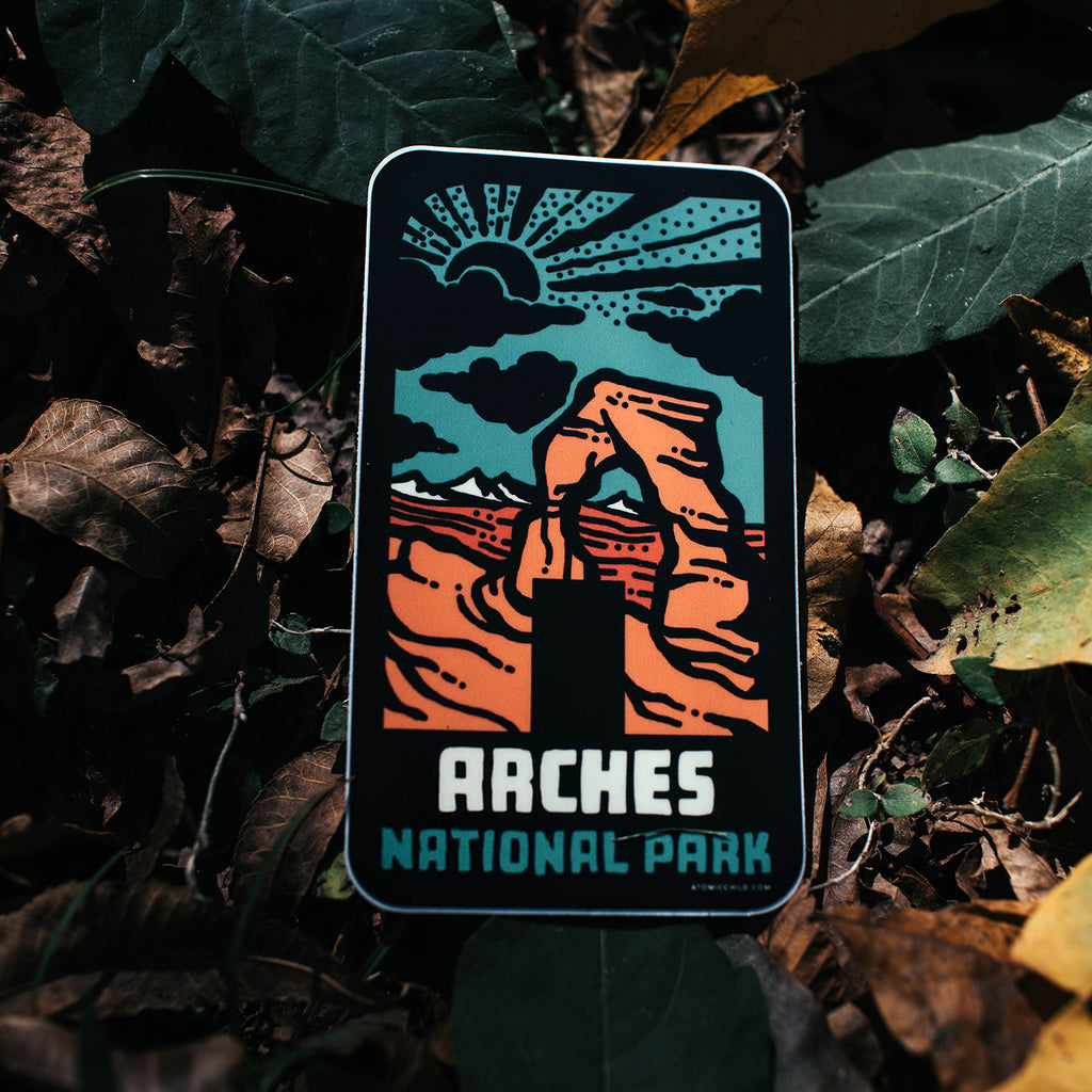 Arches NTL Park A Sticker